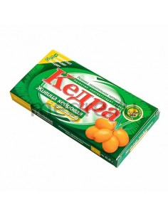 Kedra chewing gum with cedar resin and sea buckthorn
