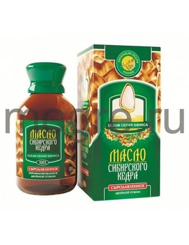 Cedrový olej 100ml - druhý lis - originál Zvonící cedry Ruska