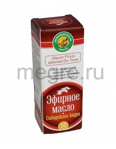Esenciální olej z pryskyřice cedru sibiřského 10ml