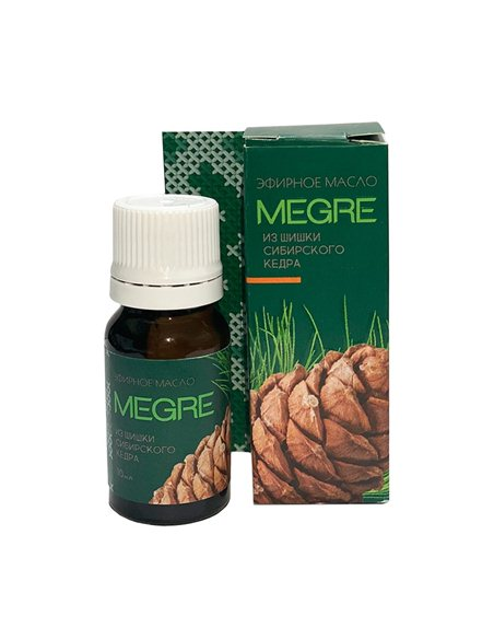 Siberian Cedar Cone essential oil 10 ml